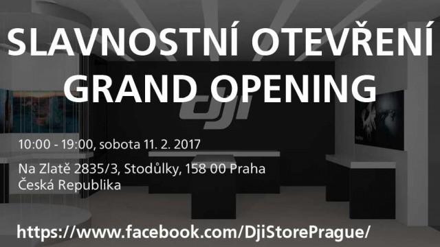 1. DJI Store bude otevřen 11. února ve Stodůlkách
