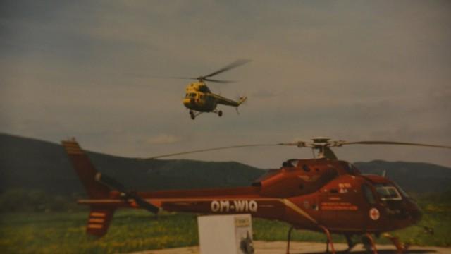 Letecké záchrance je 30 let, Kryštov 01 začal pracovat 1. 4. 1987