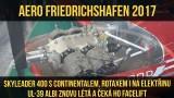 VIDEO: AERO FRIEDRICHSHAFEN 2017 (3/8) – SKYLEADER s Continentalem a UL-39 čeká nový facelift – story 03 by airzone.tv (CZ)