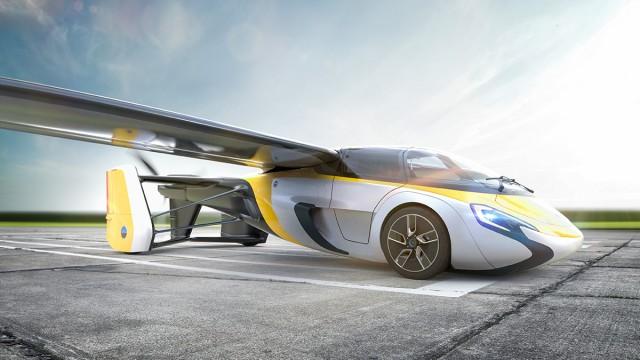 Slovenský AeroMobil představí druhý prototyp svého létajícího auta
