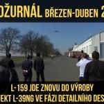 VIDEO: AEROŽURNÁL březen – duben 2017 (L-159 jde znovu do výroby, projekt L-39NG ve fázi detailního designu)