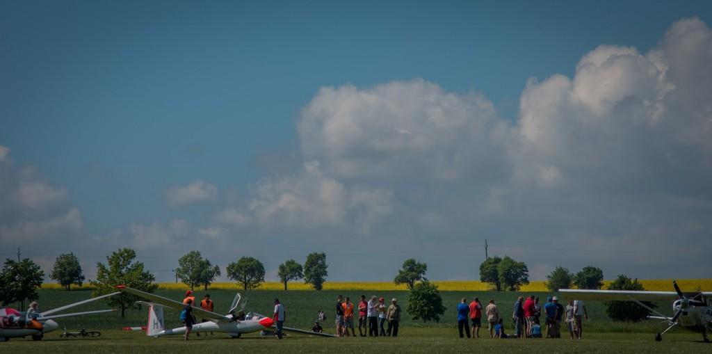 3. tréning na letišti Zbraslavice