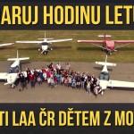 VIDEO: Daruj hodinu letu – aneb piloti LAA ČR dětem z Motola