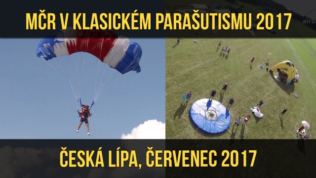 VIDEO: MČR v parašutismu 2017 – Česká Lípa