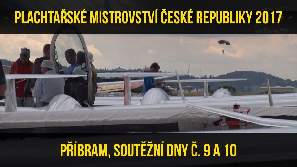 Plachtařské mistrovství ČR 2017 Příbram – Sestřihy letových dnů