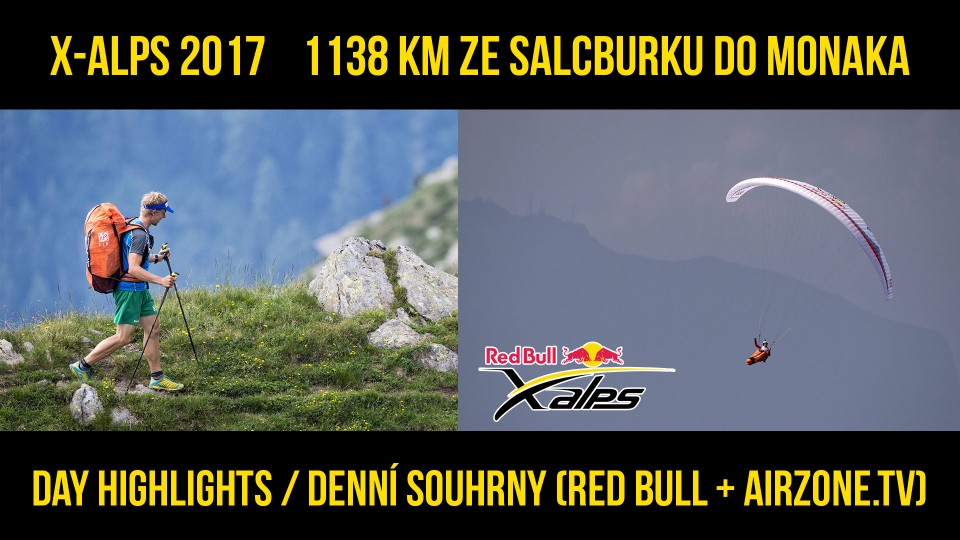 Red Bull X-Alps 2017 – Day highlights / Denní sestřihy