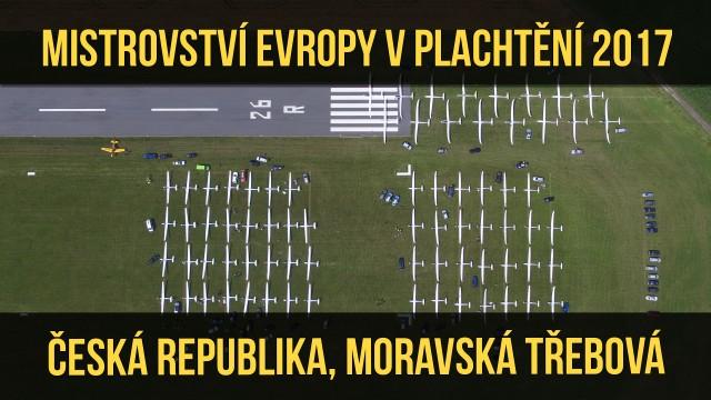 VIDEO: EGC 2017 – ME v plachtění 2017 Moravská Třebová