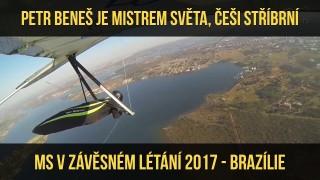 VIDEO: Petr Beneš je mistrem světa v závěsném létání, tým ČR druhý