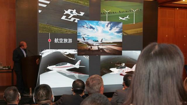 """""""Čínský podzim"""" na airZone.TV začal v úterý 19. září v Praze akcí Chengdu-Czech General Aviation Meeting (+ video)"""