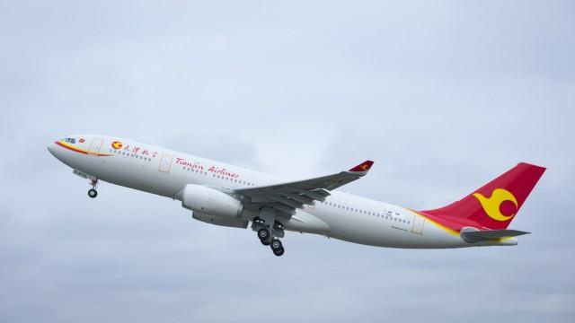 Airbus otevřel první kompletační a distribuční centrálu A-330 v Číně