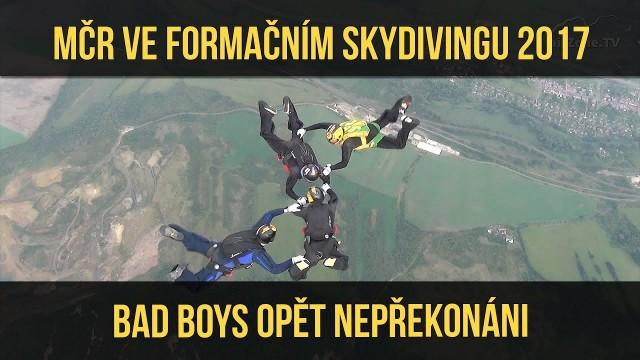 VIDEO: MČR 2017 ve formačním skydivingu – Most