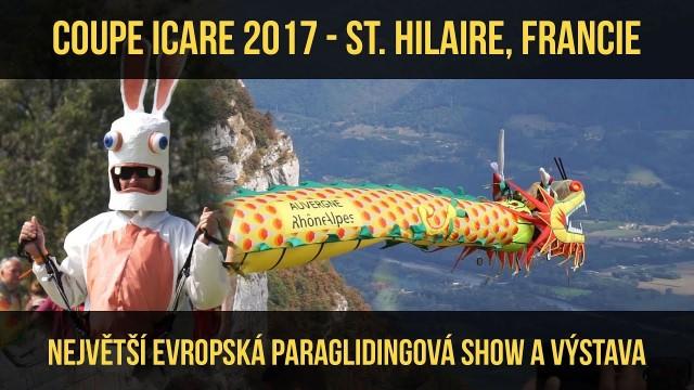 VIDEO: Coupe Icare 2017 – Největší evropská paraglidingová show