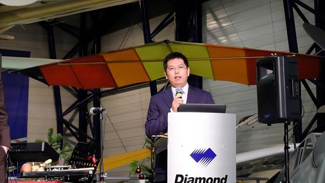 Rakouský Diamond Aircraft je v čínských rukou – koupil ho Wanfeng Aviation