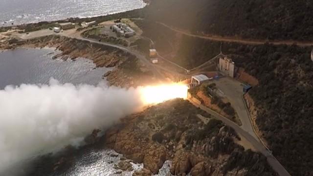 První pozemní zkouška raketového motoru Zefiro 40 (video uvnitř článku)
