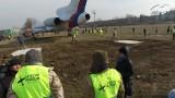 """VIDEO: Tupolev TU-154M """"Naganský expres"""" na značkách"""