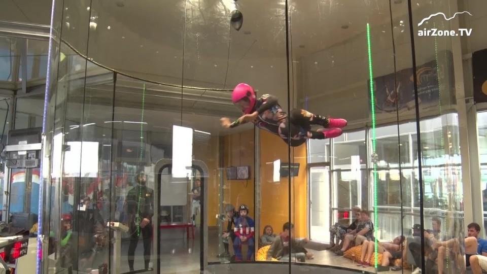 MČR v indoor skydivingu 2018 – 5. kolo freestyle a dynamic
