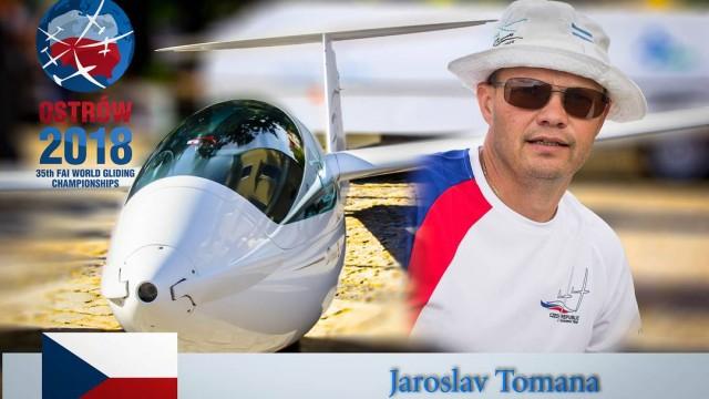 Jaroslav Tomaňa třetí na MS v plachtění, český tým čtvrtý