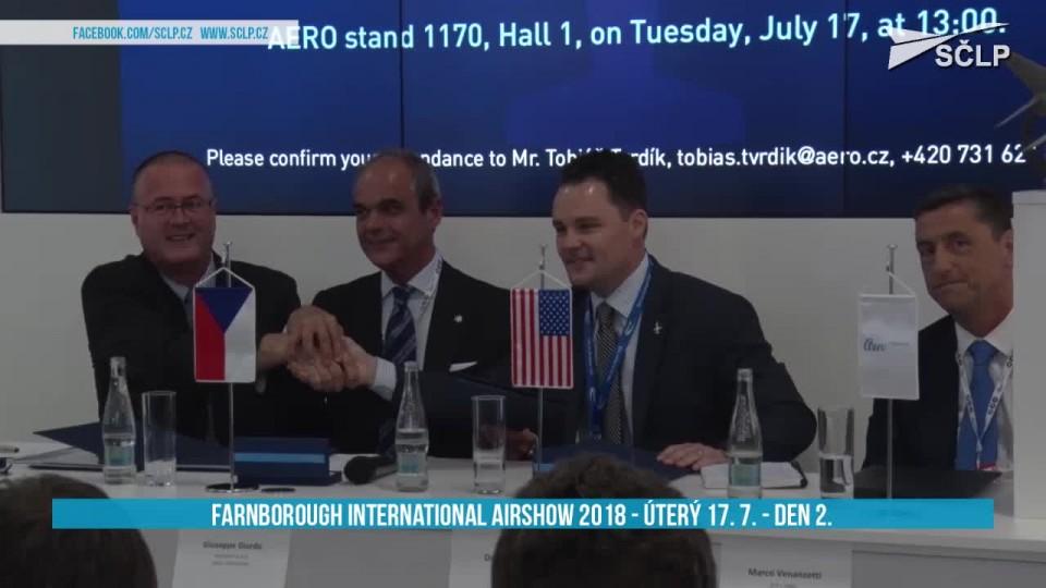 FARNBOROUGH INTERNATIONAL AIRSHOW 2018 – 17. 7. 2018