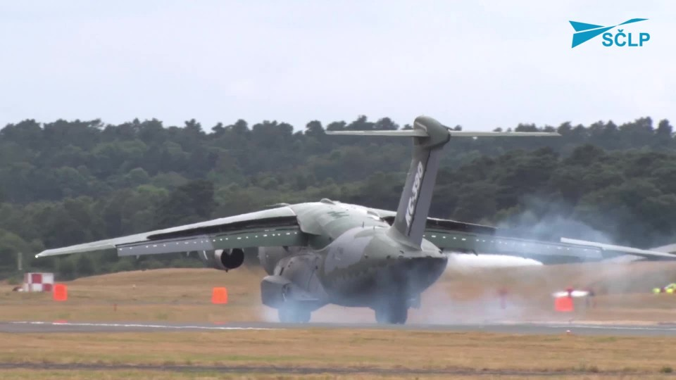 FARNBOROUGH INTERNATIONAL AIRSHOW 2018 – Letové ukázky