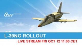 ŽIVĚ: Rollout letounu L-39NG v Aeru Vodochody – 12. října 2018 od 11:00