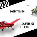 VIZE 2030: Skyspotter 150 od Liazu a elektrický Skyleader 400 Jihlavanu Airplanes