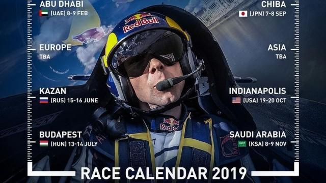 Red Bull zveřejnil částečnou podobu kalendáře Air Race 2019