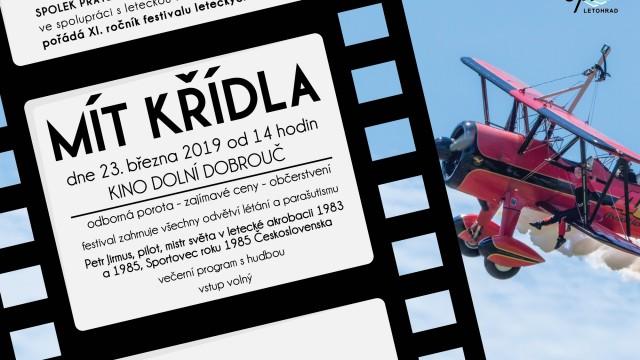 Hostem XI. filmového festivalu Mít křídla bude Petr Jirmus. Pošlete svůj snímek i vy.
