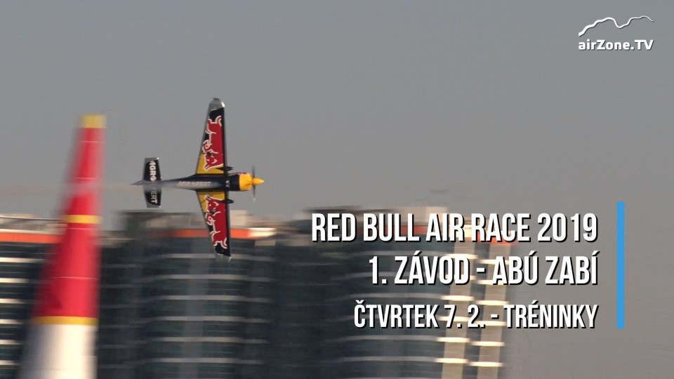 Red Bull Air Race 2019 – 1. závod – Abú Zabí / Abu Dhabi – tréninky