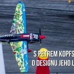 S Petrem Kopfstein o designu jeho Edge 530 V3 pro Red Bull Air Race