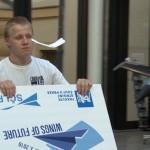 České finále soutěže Wings of Future vyhráli studenti z Odoleny Vody