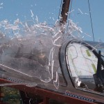 Testování vystřelovací sedačky pro L-39NG / L-39NG Ejection escape system testing