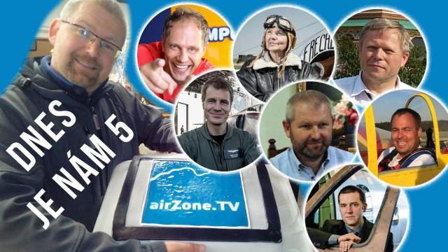 airZone.TV slaví 5 let své existence