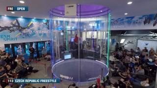 MS v indoor skydivingu 2019 – Francie – 18. 4. – den 1 živě
