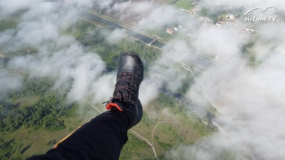 Motorový paragliding: F-light & Go / Přerov – Partyzánske – Hodonín