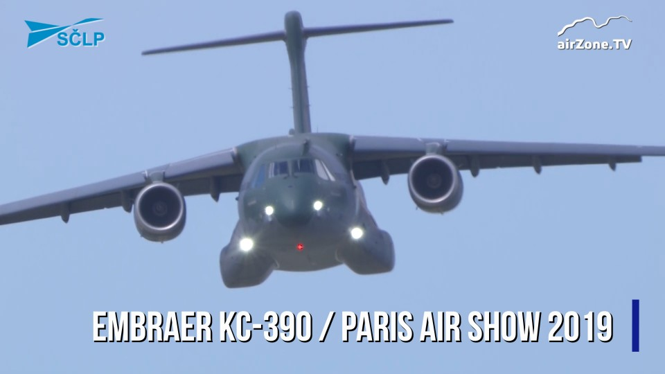 Paris Air Show 2019: Embraer KC-390
