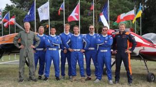 Čeští letečtí akrobati na MS druzí, Michal Tvrzník bronzový