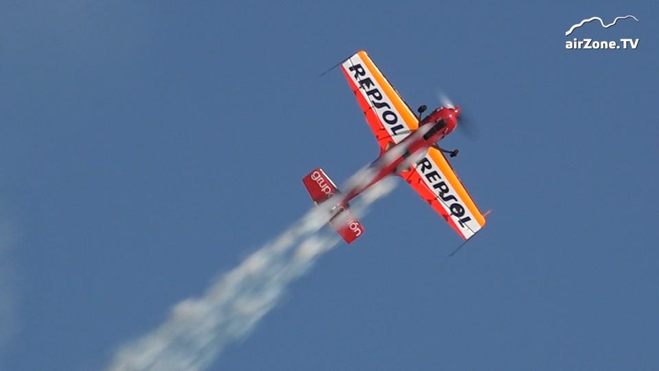 Letecká akrobacie: Stříbrný freestyle Španěla Fantoby na MS 2019