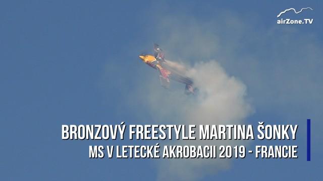 Letecká akrobacie: Bronzový freestyle Martina Šonky na MS 2019