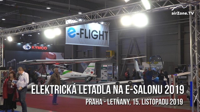 Elektrická letadla na veletrhu E-Salon 2019
