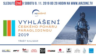 Živě: Vyhlášení výsledků Českého poháru paraglidingu 2019