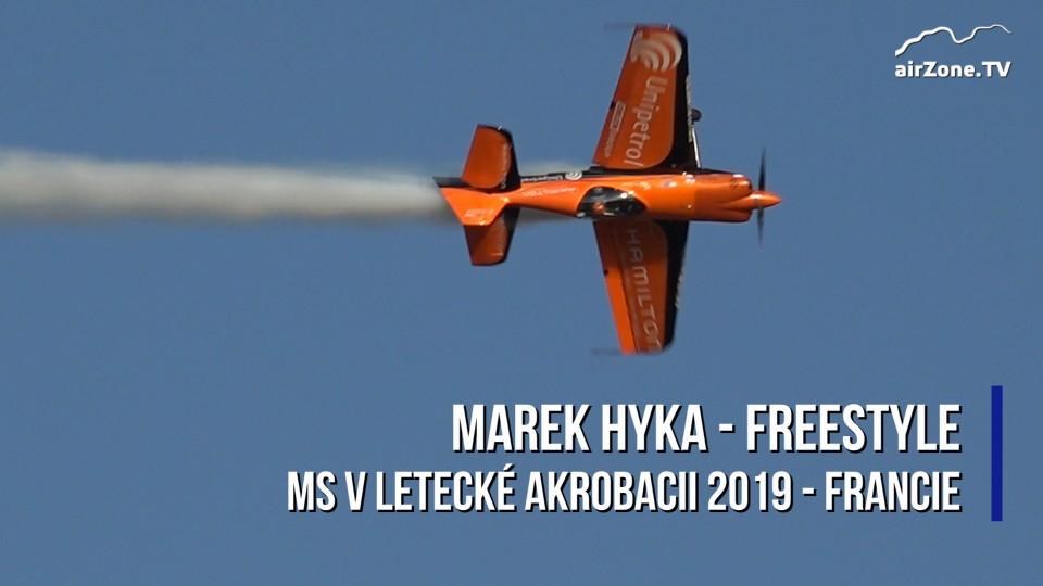 Letecká akrobacie: Marek Hyka – freestyle na MS 2019