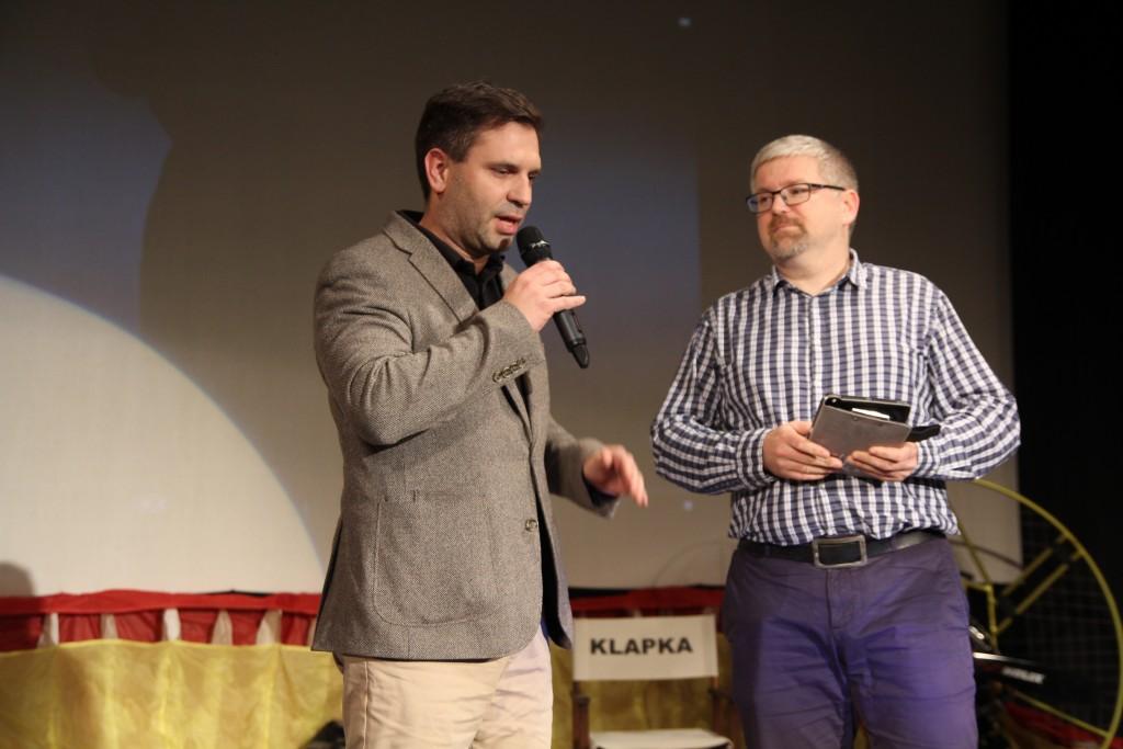Ivo Kardoš povídal o loňské sezóně společném vystoupení s s Martinem Šonkou, tedy s letouny JAS-39 Gripen a akrobatickou Extrou