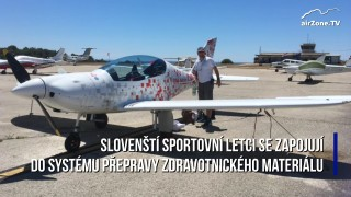 21. 3. 2020: Slovenští sportovní letci jsou k dispozici krizovému štábu