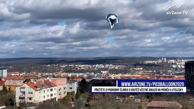 picoBalloon Challenge 2020 – Brno
