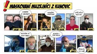 Muzejníci z Kunovic se maskují – maskujte se taky