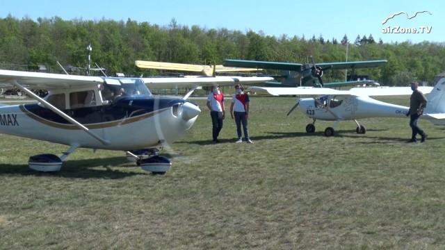Piloti lidem: Dobrovolní piloti letěli už stokrát