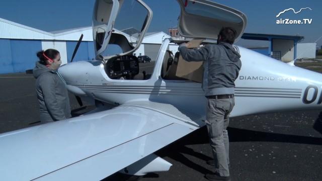 Piloti lidem: Masky z ČVUT letecky na ARO v Mostě