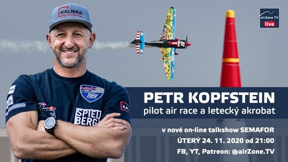 SEMAFOR #1: Petr Kopfstein, pilot air race a letecký akrobat
