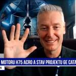 Milan Šlapák, GE Aviation: Motor H75 acro poprvé letěl