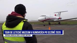 Tour de Letecké muzeum v Kunovicích s Martinem Hrabcem